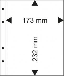 1 LINDNER MU1359 Multi Collect Blatt glasklar 1 Tasche 170 x 232 mm Deutsche Euro Kursmünzensätze PP - Vorschau 2