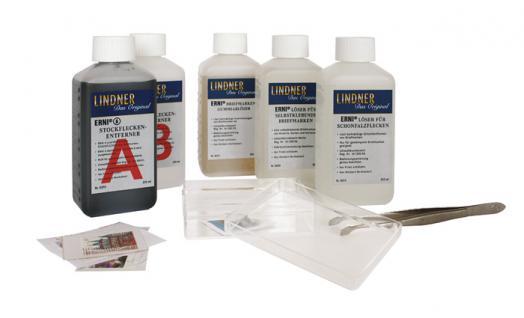 LINDNER 8060 ERNI Briefmarkenablöser Ablöser ohne Wasser 100 ml Flasche - Vorschau 2