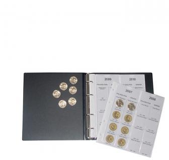 LINDNER 1106PD Münzalbum Presidential Dollars Collection 2006 - 2016 komplett - Vorschau 3
