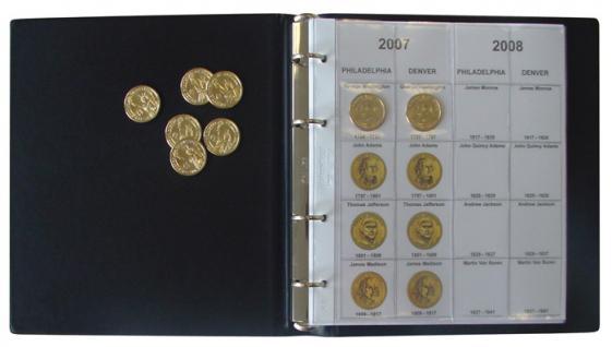 LINDNER 1106PD Münzalbum Presidential Dollars Collection 2006 - 2016 komplett - Vorschau 4