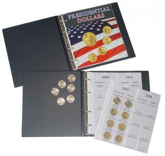 LINDNER 1106PD Münzalbum Presidential Dollars Collection 2006 - 2016 komplett - Vorschau 1