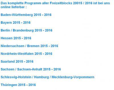 Freizeitblock Bayern 2015-2016 Gutscheinbuch FREIZEIT GUTSCHEINE RABATTE PORTOFREI IN DEUTSCHLAND - Vorschau 4