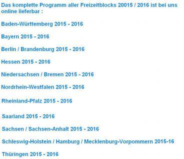 """2 x Freizeitblocks Deutschland 2015-16 """" FREIE AUSWAHL """" Gutscheinbuch Deutsche Bundesländer FREIZEIT GUTSCHEINE RABATTE - Stück nur 14, 90 € - Vorschau 4"""