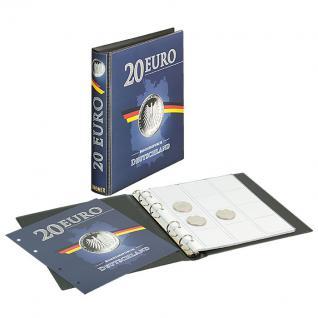 LINDNER S1520 Münzalbum Sammelalbum für Deutsche 20 EURO Silbermünzen mit 3 Karat Münzblättern - Vorschau 1