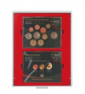 Lindner 2803 d-box Sammelbox Münzbox für original Deutsche EURO KMS Deutschland ab 2015 - Vorschau