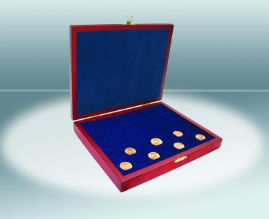 SAFE 5897 Elegance Holz Münzkassetten mit 4 Tableaus 6337SP Für 80x 10 Euro / DM Münzen Deutschland in Münzkapseln 32, 5 PP ohne Rand oder Münzen bis 37, 5 mm - Vorschau 4