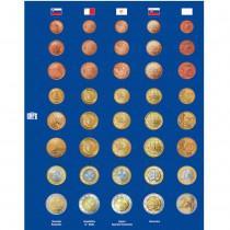 1x SAFE 7317-5 TOPset Münzblätter Ergänzungsblätter 4 x Euromünzen KMS Kursmünzensätze in Münzkapseln neue Länder z.B. Estland Litauen