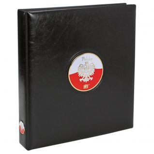 SAFE 7350 PREMIUM MÜNZALBUM Polen mit 5x Münzblättern 7392 Für Polnische Zloty - Vorschau 1
