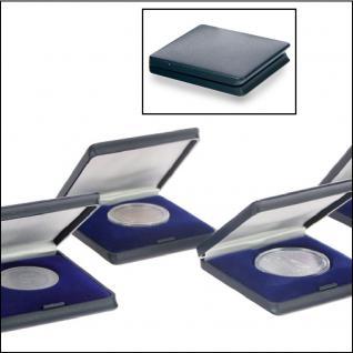 SAFE 7935 Blaue Hartschalen Etui Münzetuis Deutsche 10 DM & 10 - 20 Euro Gedenkmünzen