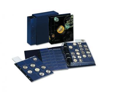 1 x SAFE 874 Coin Compact Ergänzungsblätter Spezialblätter Münzhüllen 1 Tasche 165 x 215 mm Für 2 x Deutsche Euro KMS PP bis 2014 - Vorschau 3