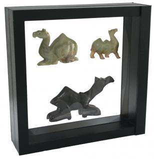 SAFE 4512 SCHWEBE RAHMEN FOTORAHMEN BILDERRAHMEN 3D Schwarz Außen 305 x 305 mm / Innen 260 x 260 mm Für Münzen & Medaillen