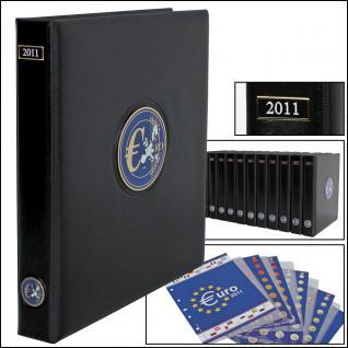 SAFE 7430 PREMIUM EURO ANNO JAHRGANGS MÜNZALBUM + Vordrucke Kursmünzensätze 2011