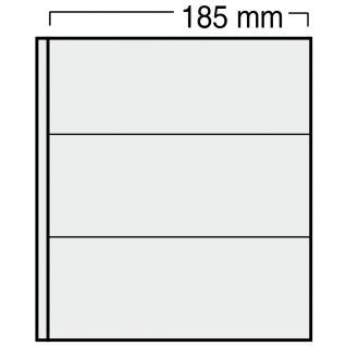 10 x SAFE 563 Ergänzungsblätter Variant + sandfarbenen ZWL mit 3 Taschen 185 x 78 mm