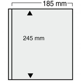 10 x SAFE 868 Ergänzungsblätter Variant + schwarzen ZWL mit 1 Tasche 185 x 245 mm