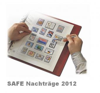 SAFE 1612 dual Nachträge - Nachtrag / Vordrucke Frankreich - France Jahresschmuckblätter - 2012