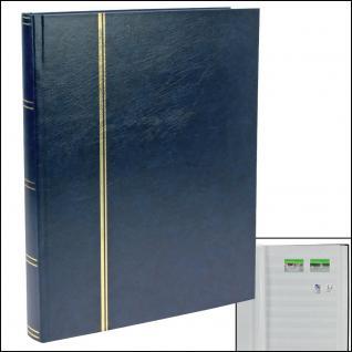 SAFE 115-4 Briefmarken Einsteckbücher Einsteckbuch Einsteckalbum Einsteckalben Album Blau 32 weissen Seiten