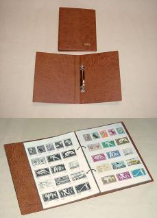 KOBRA AB Briefmarken - Banknoten - Postkarten Auswahlalbum Taschenalbum Tauschalbum Ringbinder (leer) zum selbst befüllen