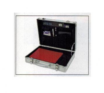 "SAFE 73706 ALU Notebook - Netbook - Laptop Office Koffer "" Silver Star "" 13"""