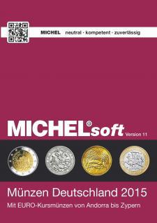MICHELsoft Münzen Deutschland 2015 - Version 11 PORTOFREI IN DEUTSCHLAND