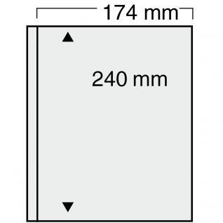 10 SAFE 7871 Compact Ergänzungsblätter Hüllen 1 Taschen 174 x 240 mm + sandf. ZWL Briefe A5