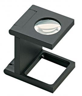 LINDNER 7198 Eschenbach Kunststoff Lupe Standlupe Fadenzähler 8 fache Vergrößerung Linse 16 mm