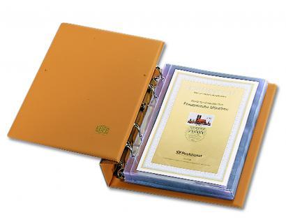 SAFE 7882 Luxus Skai Compact ETB-Album mit 20 Blättern 7872 erweiterbar bis 150 ETB 's