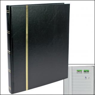 SAFE 115-5 Briefmarken Einsteckbücher Einsteckbuch Einsteckalbum Einsteckalben Album Schwarz 32 weissen Seiten