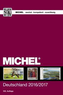 MICHEL Deutschland Briefmarken Katalog 103 Auflage 2016 - 2017+ CD-ROM MICHELsoft + BONUS ETB