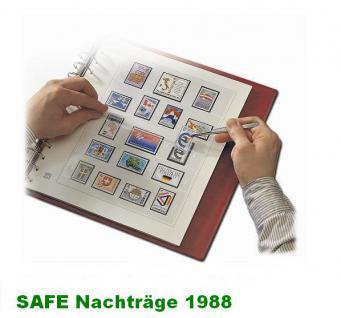 SAFE 1788 dual Nachträge - Nachtrag / Vordrucke Berlin Jahresschmuckblätter - 1988