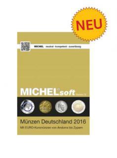 MICHELsoft MICHEL Daten / Update 2016 Münzen Deutschland - PORTOFREI in DEUTSCHLAND
