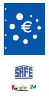 5 x SAFE 7856 TOPset Münzalbum Münzhüllen Ergänzungsblätter für Euromünzen Kursmünzensatz KMS 1 Cent bis 2 Euromünze