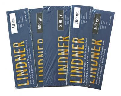 1 x LINDNER S10500 Klemmstreifen Kiloware 500 Gramm schwarz