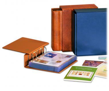 10 SAFE 7878 Compact Ergänzungsblätter Hüllen 2 Taschen 174 x 118 mm + schwarzen ZWL Für Banknoten & Briefe - Vorschau 3