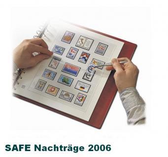 SAFE 1606 dual Nachträge - Nachtrag / Vordrucke Frankreich - France Jahresschmuckblätter - 2006