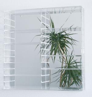 SAFE 5217 Glasspiegel Hintergrund Glas-Spiegel Rückwand für die Präsentations - Vitrine 5210