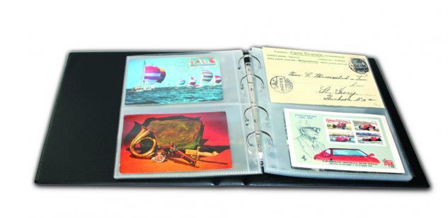 10 SAFE 7336 PREMIUM Ergänzungsblätter 2 Taschen 195x125 mm Postkarten Ansichtskarten