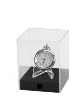 """SAFE 5286 Acryl Präsentations Uhren Vitrinenwürfel """" CUBE S """" Glasklar 80 x 80 x 100 mm Taschenuhren"""