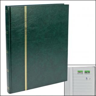 SAFE 115-3 Briefmarken Einsteckbücher Einsteckbuch Einsteckalbum Einsteckalben Album Grün 32 weissen Seiten