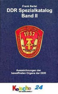 BARTEL Auszeichnungen d bewaffneten Organe d DDR Bd - Vorschau