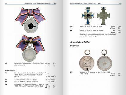 Battenberg Deutsche Orden und Ehrenzeichen Drittes Reich DDR Deutschland - 1933 - heute 2011 - Jörg Nimmergut - komplett in Farbe - PORTOFREI in Deutschland - Vorschau 2