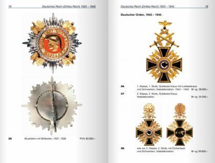 Battenberg Deutsche Orden und Ehrenzeichen Drittes Reich DDR Deutschland - 1933 - heute 2011 - Jörg Nimmergut - komplett in Farbe - PORTOFREI in Deutschland - Vorschau 3