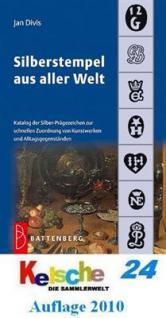 Battenberg Jan Divis Silberstempel aus aller Welt 7. Auflage 2010 - PORTOFREI in Deutschland