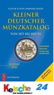Battenberg Kleiner Deutscher Münzkatalog 2010 NEU