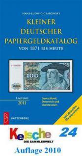 Battenberg KLEINER DEUTSCHER PAPIERGELDKATALOG 2011
