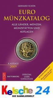 Battenberg EURO Münzkatalog 2009 NEU DRUCKFRISCH