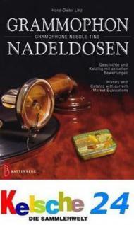 Battenberg Grammophon Nadeldosen / Gramophone Needle Tins Geschichte u. Katalog 2006 PORTOFREI in Deutschland
