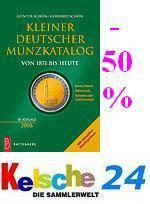 Battenberg Kleiner Deutscher Münzkatalog 2008 -50%
