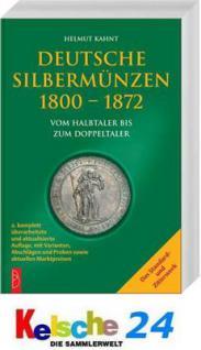 Battenberg Deutsche Silbermünzen 1800-1872 2008 NEU