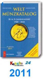 Battenberg Weltmünzkatalog 20-21. Jhd. 2011 DRUCKFR