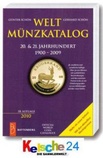 BATTENBERG WELTMÜNZKATALOG 20 & 21 JAHRHUNDERT 2010 - Vorschau
